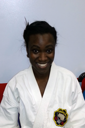 Gabrielle Whitten - Fighting Tiger Raleigh Triangle Family Karate Assistant Instructor, Raleigh, NC 919-787-2250